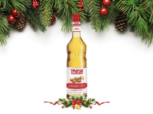 Christmas Offer Toschi Amaretto syrup 750 ml WAS £6.99
